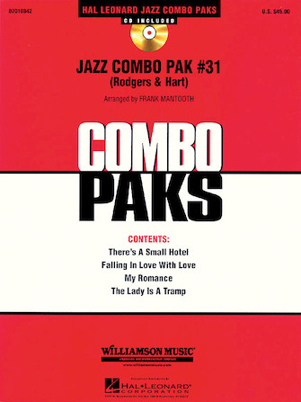 Product Cover for Jazz Combo Pak #31 (Rodgers & Hart)
