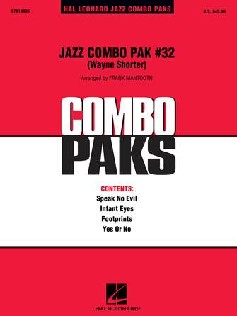 Product Cover for Jazz Combo Pak #32 – Wayne Shorter