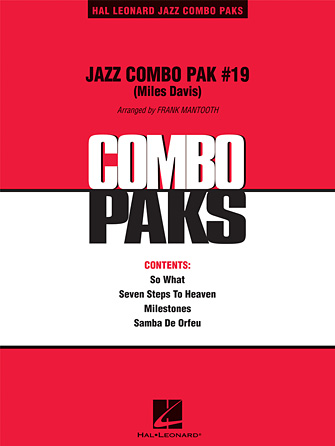 Product Cover for Jazz Combo Pak #19 (Miles Davis)