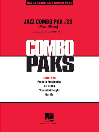 Product Cover for Jazz Combo Pak #23 (More Miles Davis)