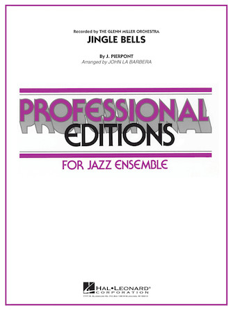 Product Cover for Jingle Bells (as recorded by The Glenn Miller Orchestra)