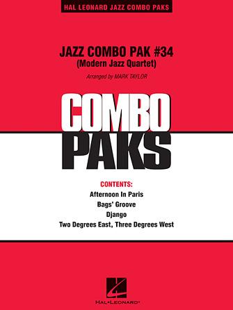 Jazz Combo Pak #34 (Modern Jazz Quartet)