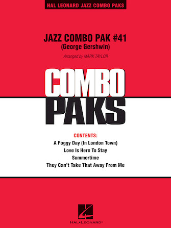 Product Cover for Jazz Combo Pak #41 (George Gershwin)