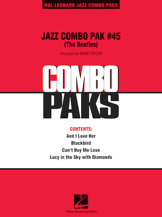 Product Cover for Jazz Combo Pak #45 (The Beatles)
