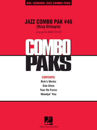 Product Cover for Jazz Combo Pak #46 (Dizzy Gillespie)