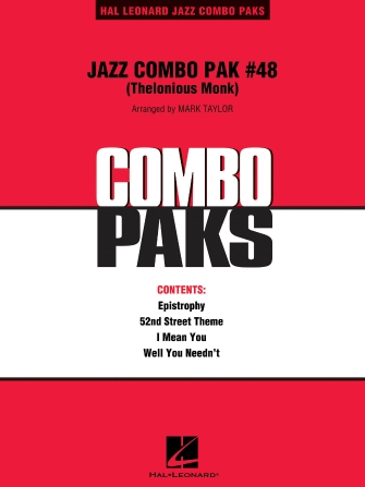 Product Cover for Jazz Combo Pak #48 (Thelonious Monk)