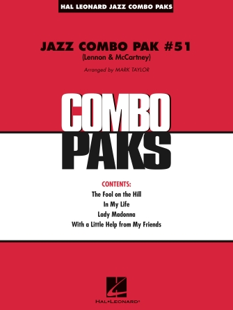 Jazz Combo Pak #51 (Lennon & McCartney)