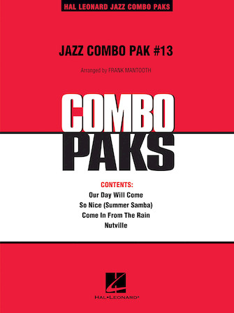 Product Cover for Jazz Combo Pak #13