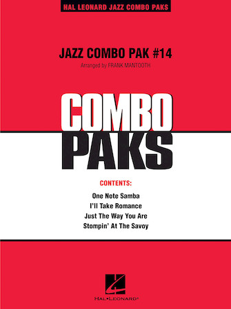 Product Cover for Jazz Combo Pak #14
