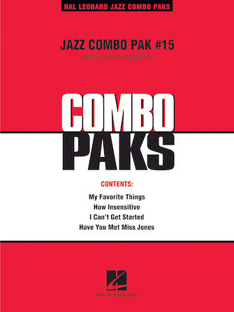 Product Cover for Jazz Combo Pak #15