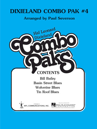 Product Cover for Dixieland Combo Pak 4