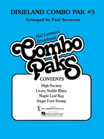 Product Cover for Dixieland Combo Pak 5