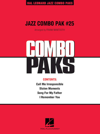Product Cover for Jazz Combo Pak #25