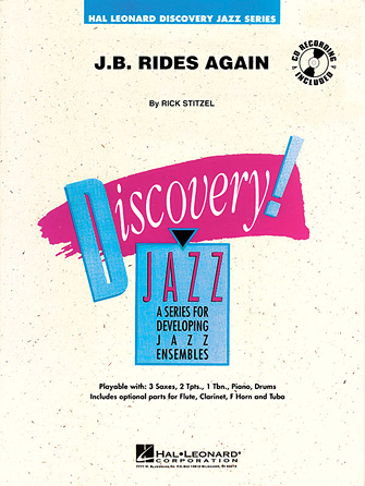 Product Cover for J.B. Rides Again