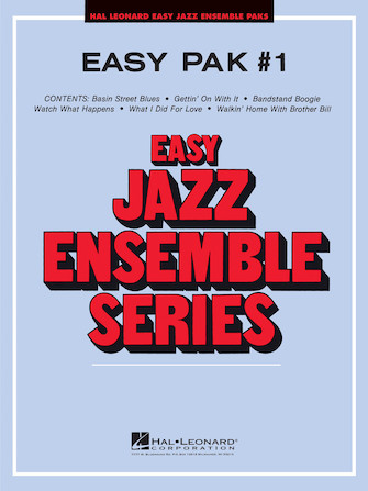 Product Cover for Easy Jazz Ensemble Pak 1