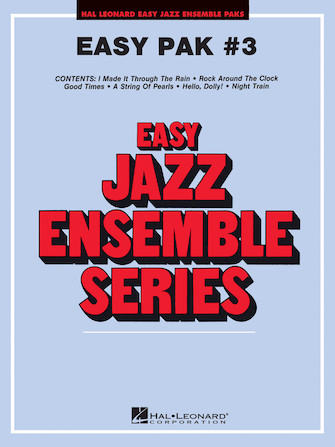 Product Cover for Easy Jazz Ensemble Pak #3