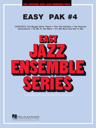 Product Cover for Easy Jazz Ensemble Pak #4