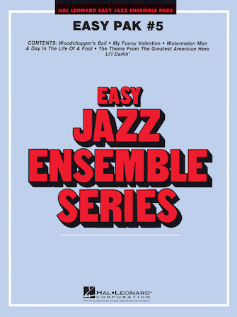 Product Cover for Easy Jazz Ensemble Pak 5