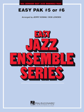 Product Cover for Easy Play Jazz Pak 5 Or 6 Cassette