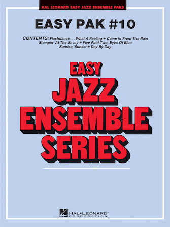 Product Cover for Easy Jazz Ensemble Pak #10