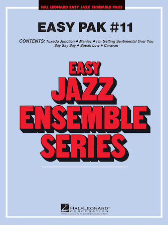 Product Cover for Easy Jazz Ensemble Pak 11