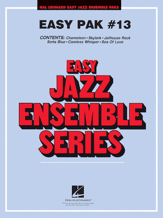 Product Cover for Easy Jazz Ensemble Pak 13
