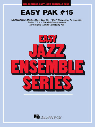 Product Cover for Easy Jazz Ensemble Pak 15