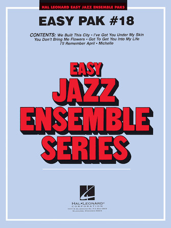 Product Cover for Easy Jazz Ensemble Pak 18
