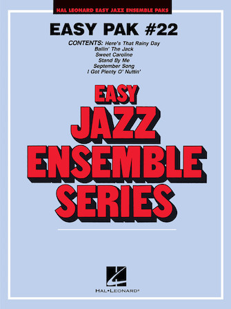 Product Cover for Easy Jazz Ensemble Pak 22