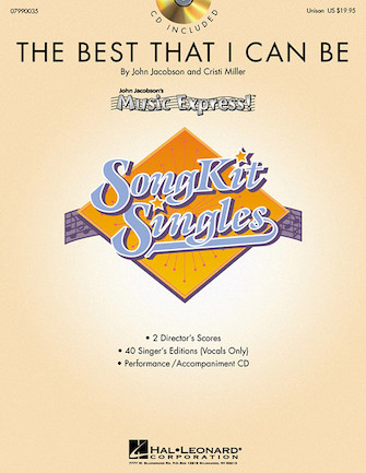 Product Cover for The Best That I Can Be (SongKit Single)