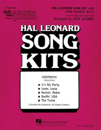 Product Cover for The Rockin' 60s (Song Kit #23)