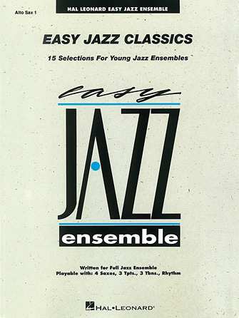 Product Cover for Easy Jazz Classics – Alto Sax 1