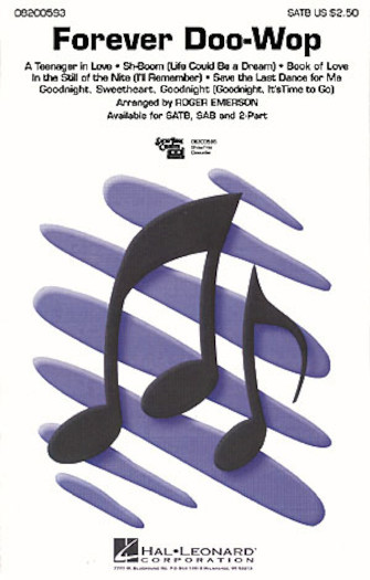 Forever Doo-Wop (Medley) : SATB : Roger Emerson : Sheet Music : 08200593 : 073999005936