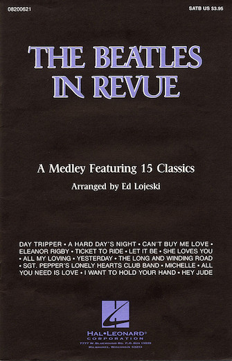 Product Cover for The Beatles in Revue (Medley of 15 Classics)