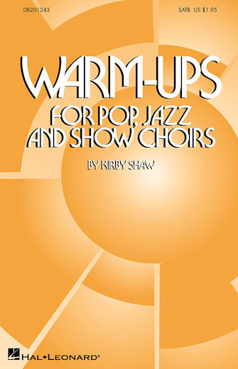 Product Cover for Warm-Ups for Pop, Jazz and Show Choirs