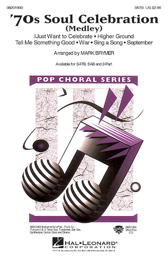 70s Soul Celebration : SATB : Mark Brymer : Sheet Music : 08201900 : 884088059385
