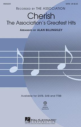 Cherish (The Association's Greatest Hits) : SAB : Alan Billingsley : The Association : Sheet Music : 08202224 : 884088223410
