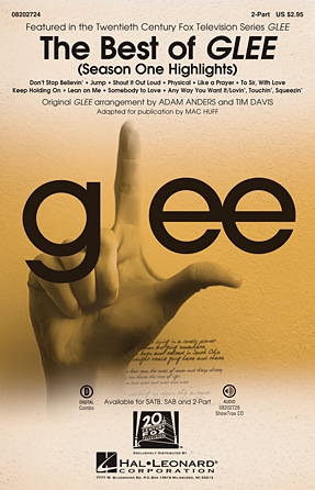 The Best of Glee : 2-Part : Tim Davis : Glee Cast : Sheet Music : 08202724 : 884088526481