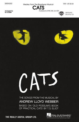 Cats (Medley) : SSA : Ed Lojeski : Cats : Sheet Music : 08206202 : 073999722031