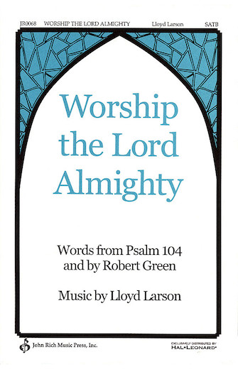 Product Cover for Worship the Lord Almighty