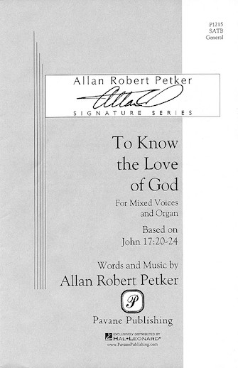 Product Cover for To Know the Love of God