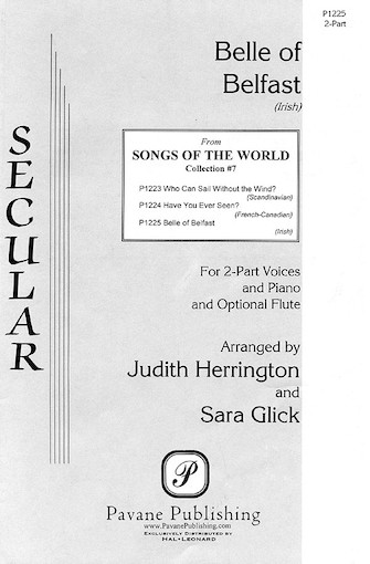 Belle of Belfast : 2-Part : Sara Glick : Sheet Music : 08301682 : 073999222722