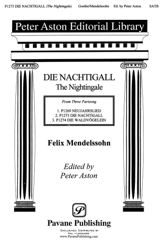The Nightingale : SATB : Peter Aston : Sheet Music : 08301757 : 884088058418