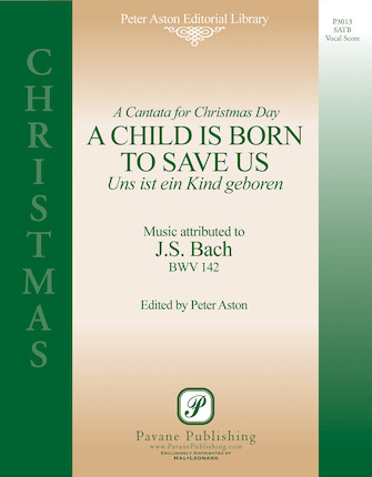 Product Cover for A Child Is Born to Save Us