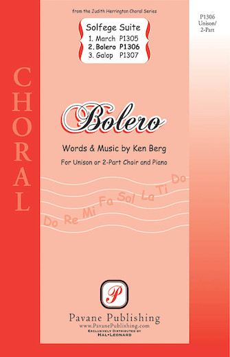 Bolero : 2-Part : Ken Berg : Ken Berg : Sheet Music : 08301801 : 884088136086