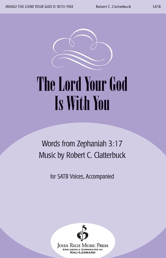 Product Cover for The Lord Your God Is with You