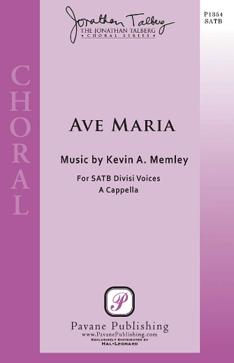 Ave Maria : SSAATTBB : Kevin Memley : Kevin Memley : Sheet Music : 08301855 : 884088328597