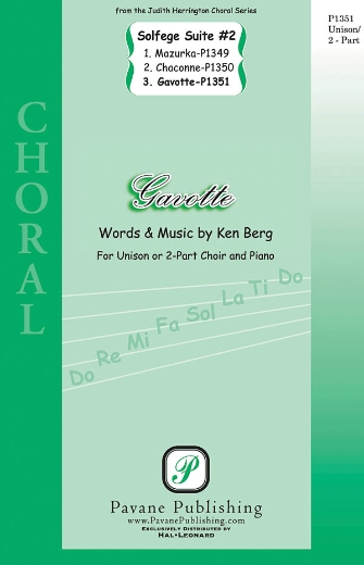 Gavotte : 2-Part : Ken Berg : Ken Berg : Sheet Music : 08301858 : 884088328658