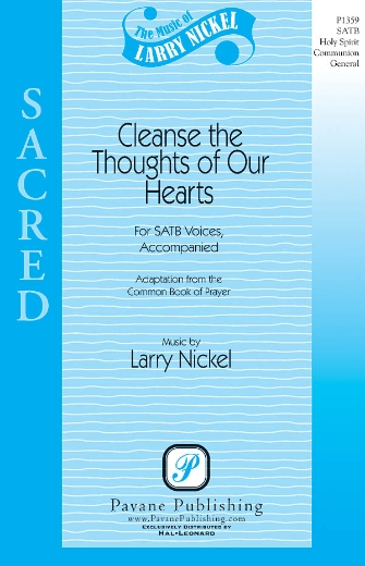 Cleanse the Thoughts of Our Hearts