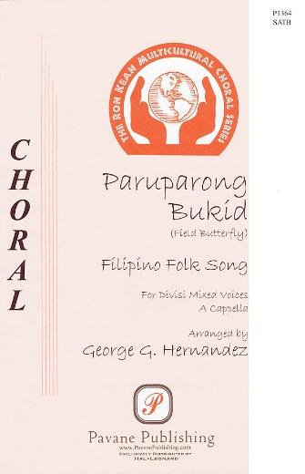 Paruparong Bukid : SATB : George Hernandez : Sheet Music : 08301865 : 884088328733
